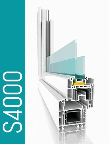 Stibi Fensterprofil S4000